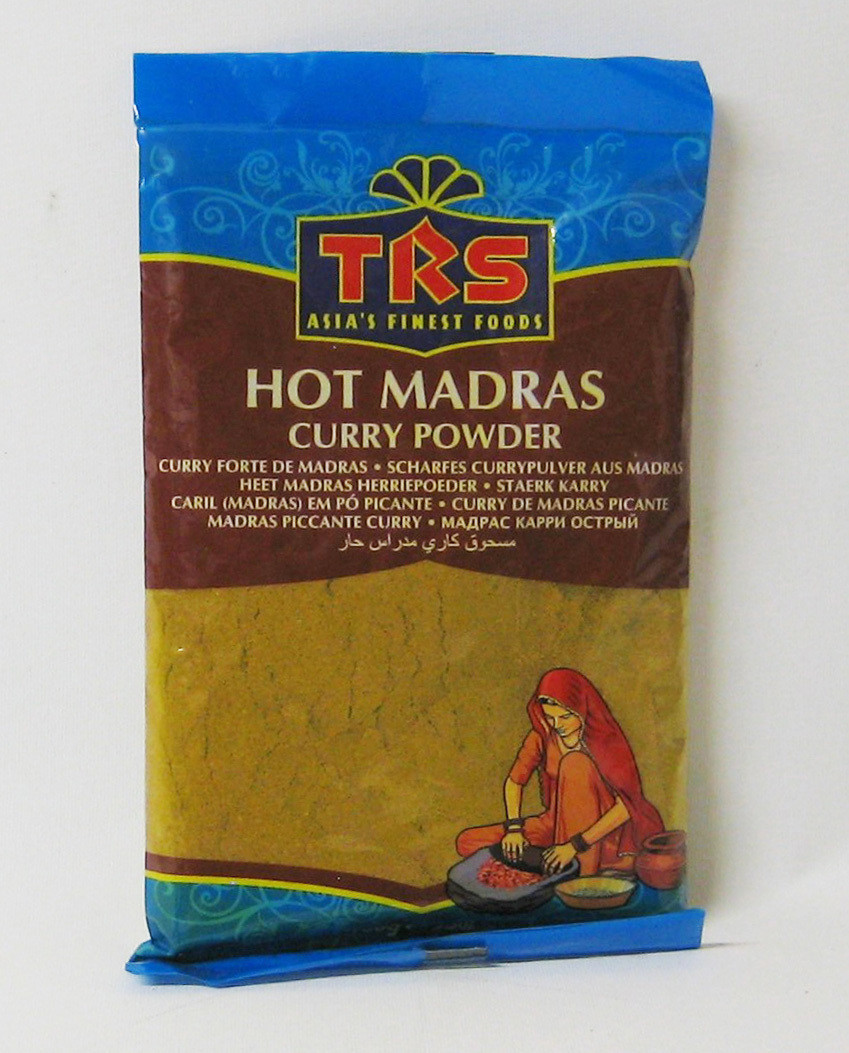 Madras Curry Powder Hot  100 gr