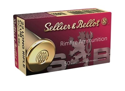 Sellier & Bellot 22 LR, Club box of 50 rounds