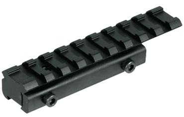 UTG Low Profile Airgun/.22 to Picatinny/Weaver Rail Adaptor