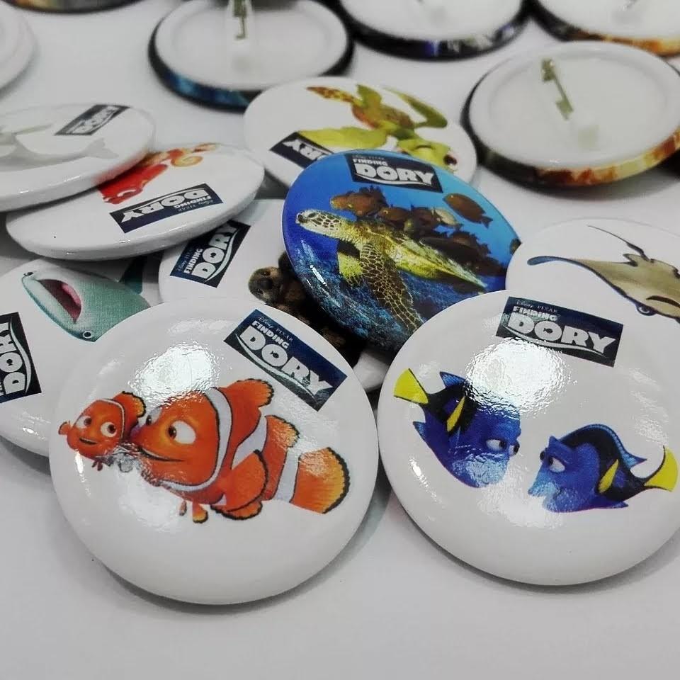 10 Spille 3cm zaino scuola personalizzate Nemo
