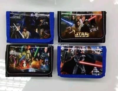 6 portafogli Star Wars portamonete gadget a tema fine festa compleanno bambini
