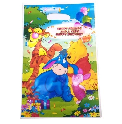10 bustine Winnie the Pooh confezioni regalo