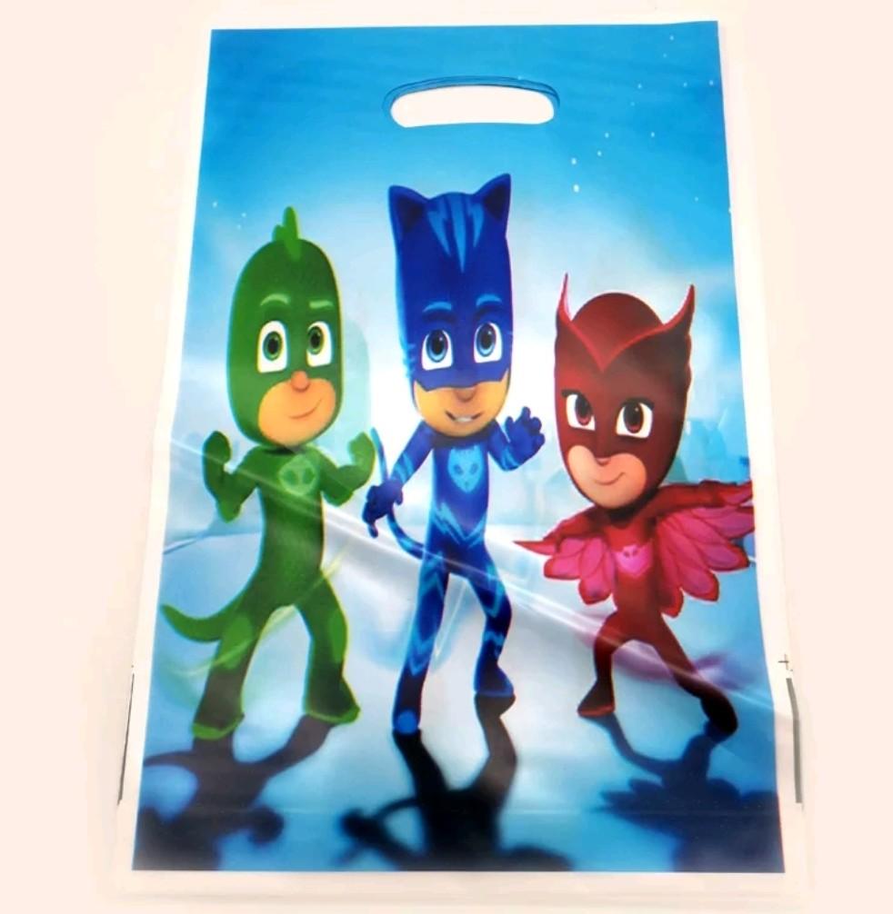10 bustine PJ Masks confezioni regalo