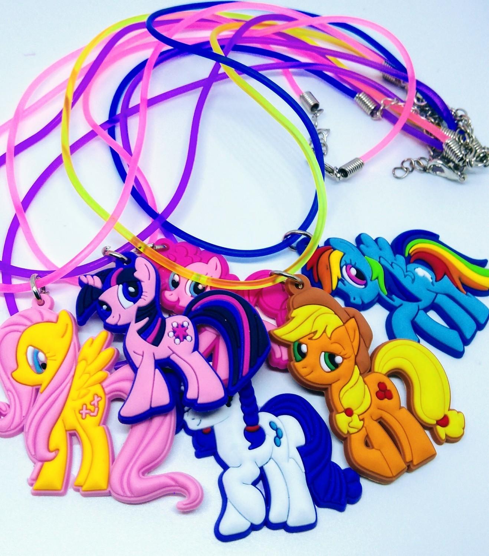 10 Collane My Little Pony pendente in PVC