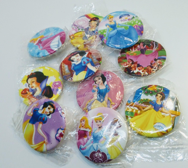 10 Spille 3cm zaino scuola personalizzate Principesse Disney