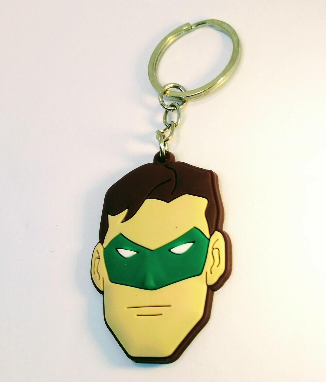 10 portachiavi Lanterna Verde chiusura zip lampo zaino scuola