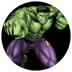 10 Magneti Hulk 5cm Calamite frigo personalizzabili