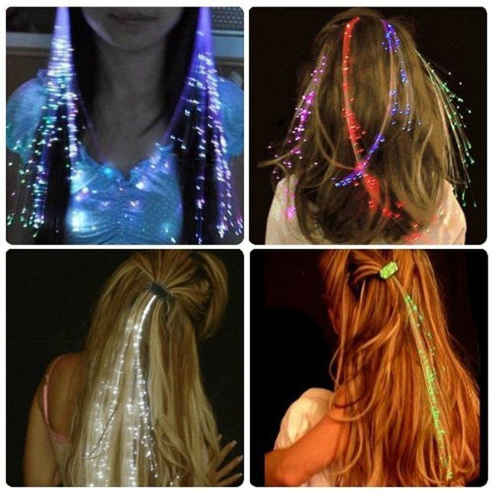 Extension Colorate Per Bambini 10 hair extension lol surprise capelli luminosi gadget