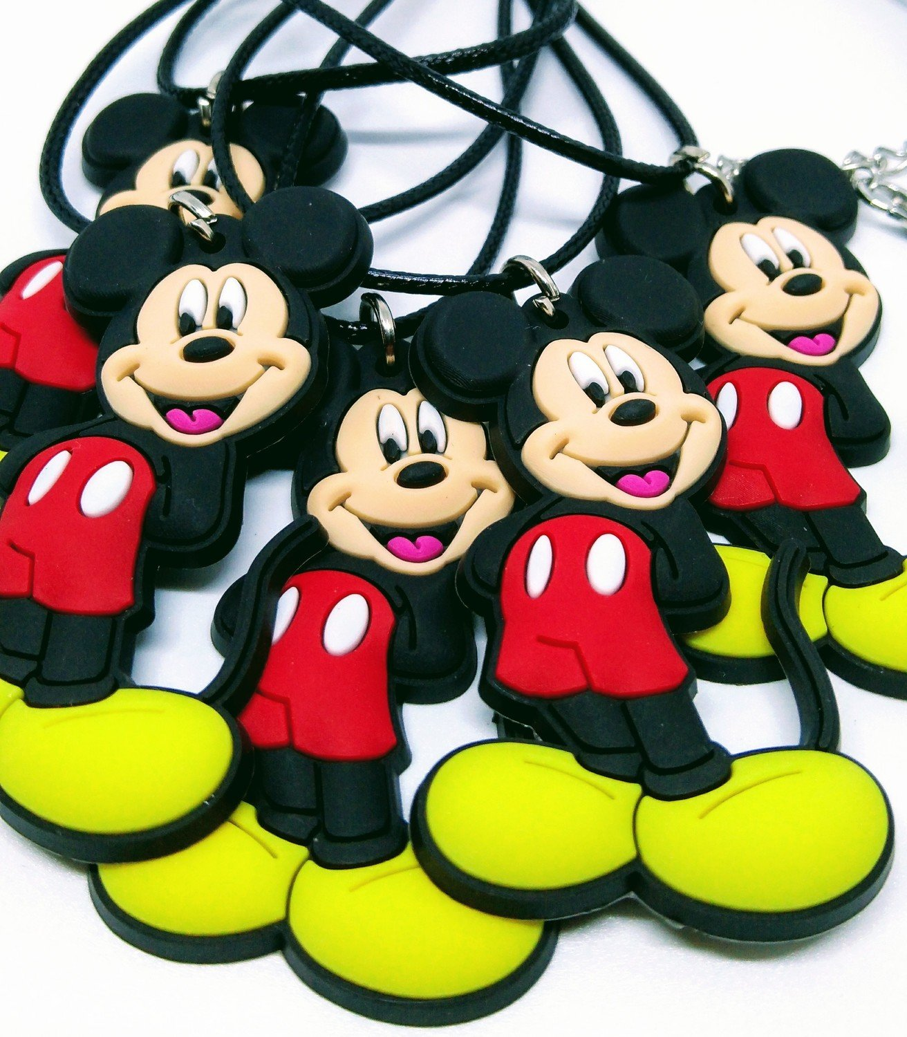 10 Collane Topolino Disney pendente in PVC