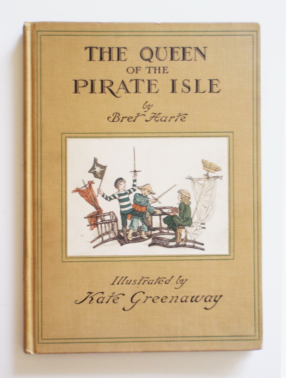1931 Kate Greenaway Queen of Pirate Isle Children Fantasy Adventure Book