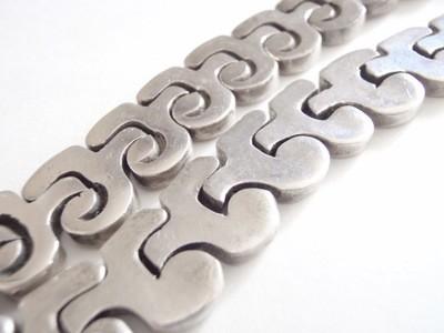 Taxco Salvador Juller Garcia Puzzle Necklace 136 Grams