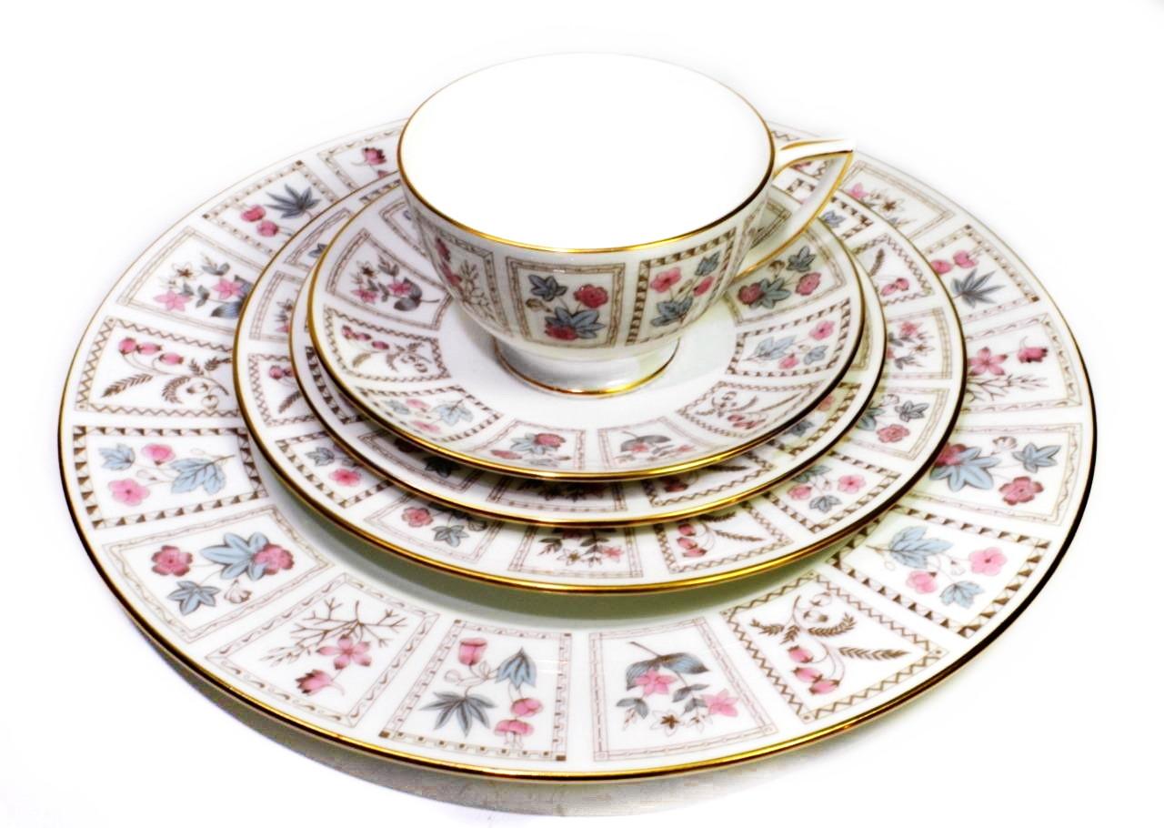 Minton Tapestry 6pc Dinnerware Settings English Bone China