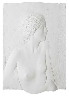 Frank Gallo 'Innocence' Nude 1980s Plexiglass Shadowbox Frame Lt Ed 7/200