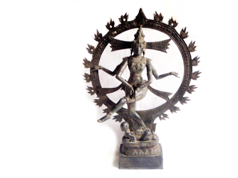 Shiva Nataraja Lord of the Dance Statue 23 Inch Hindu God Cosmic Dancer