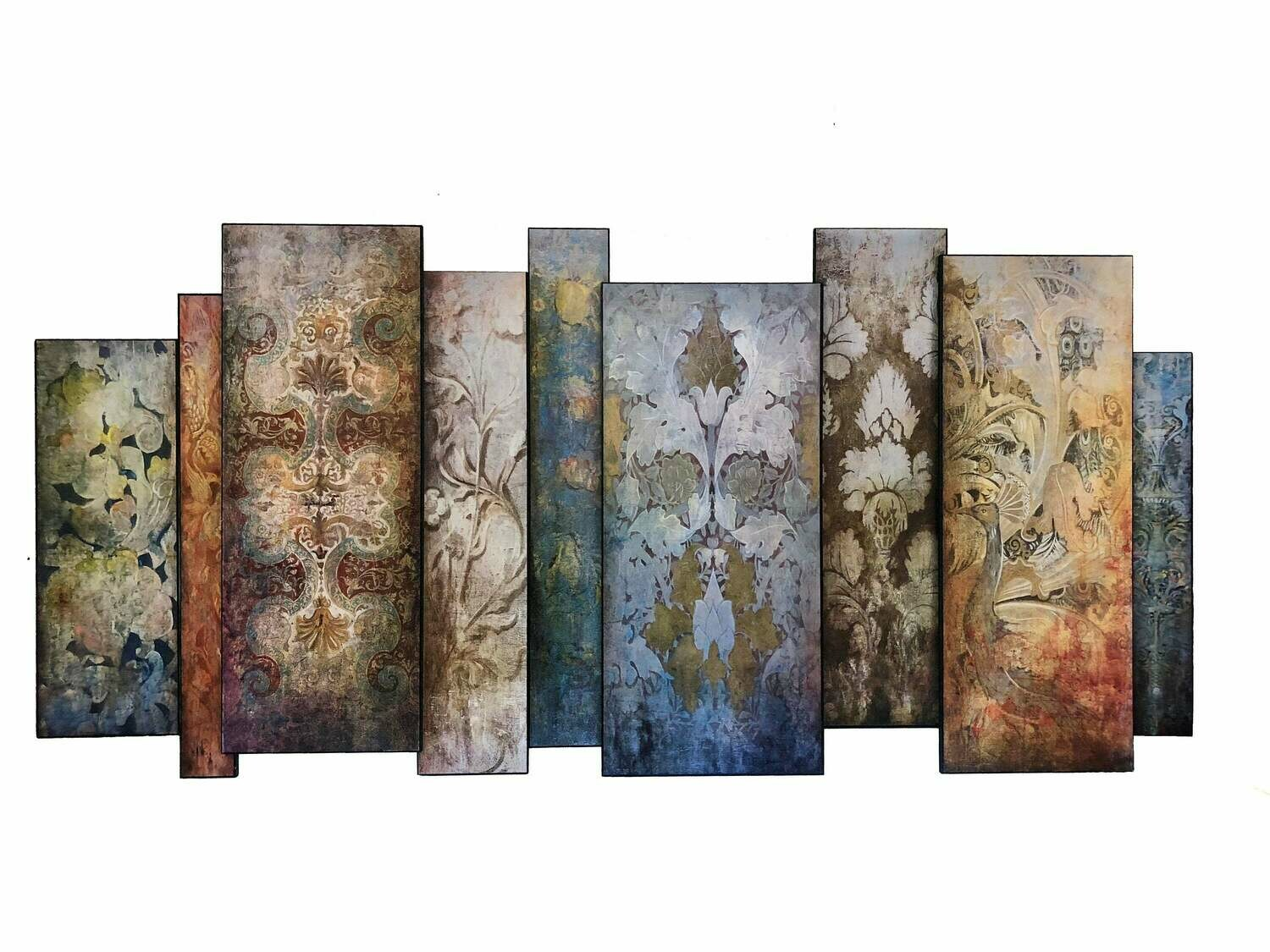 66 Inch Art Panel Faded Memory Offset Panels Mural Home Decor