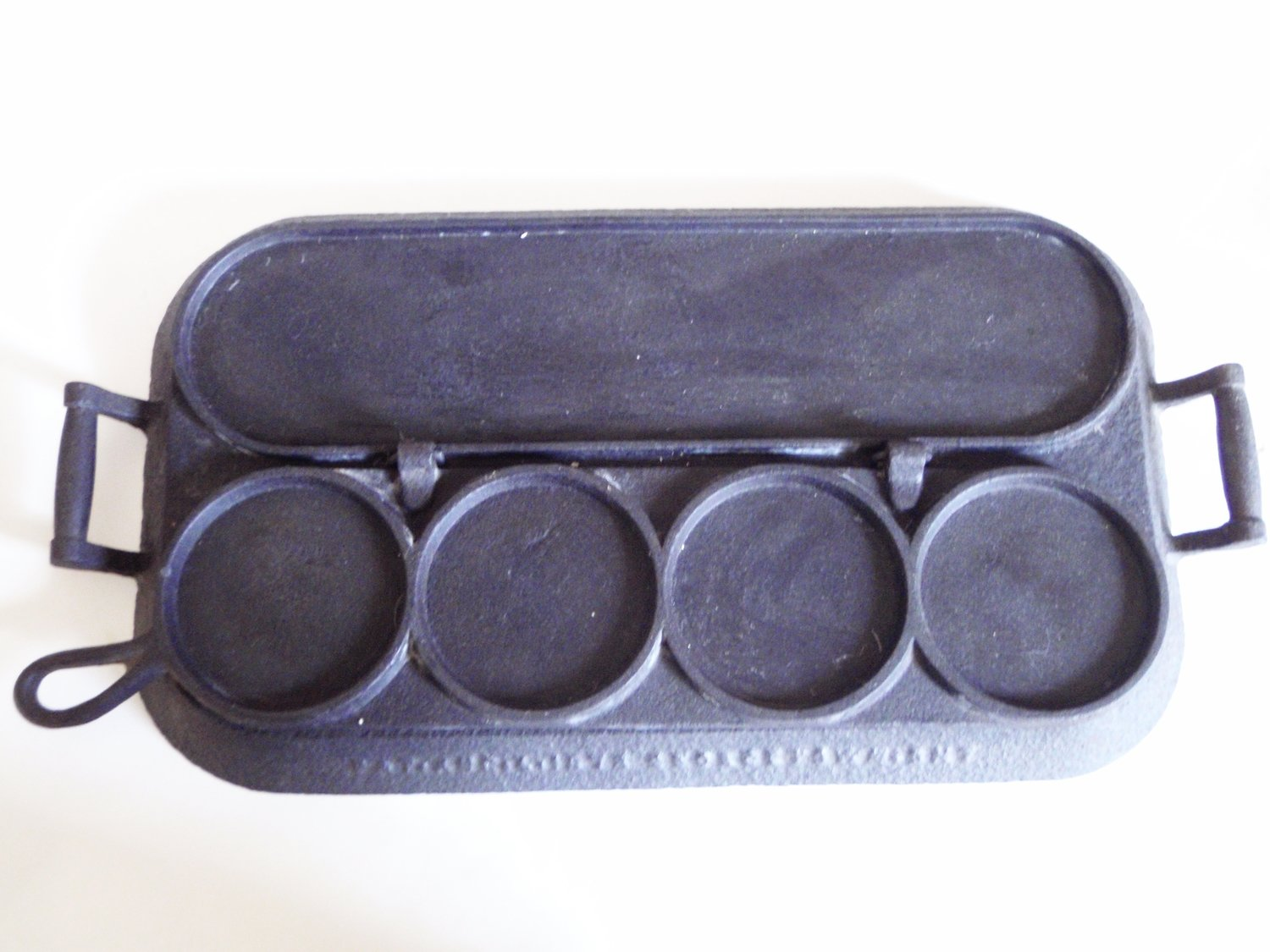 1873 Cast Iron Griddle Cakes Pancake Flap Jack Patented Griddle