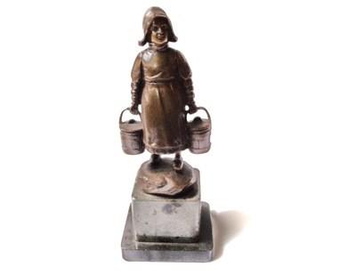 Vienna Bronze Victor Heinrich Seifert Dutch Girl Sculpture