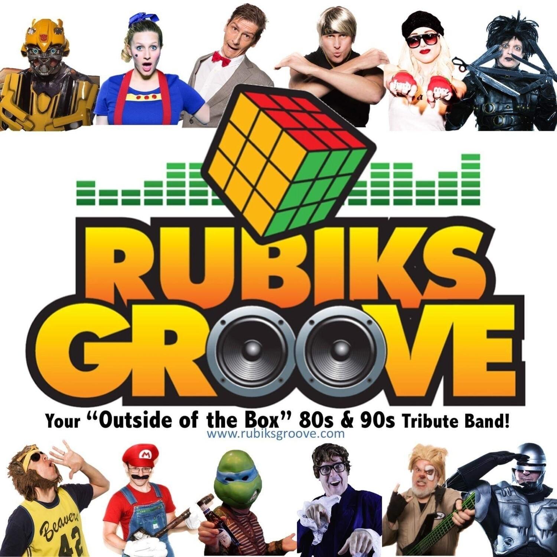 Rubiks Groove LIVE July 10th