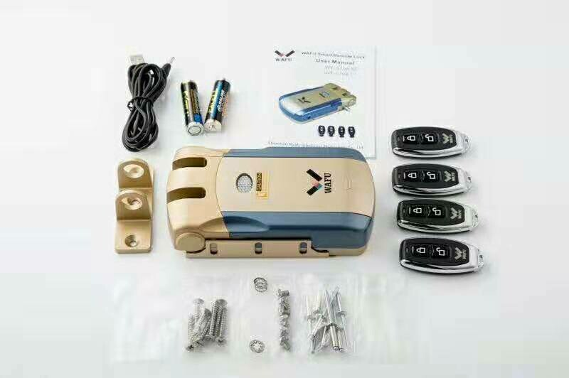 Free Shipping Wafu Keyless Electronic Deadbolt with Remote Control