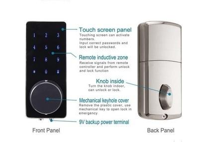 Touch Screen Keyless Lock