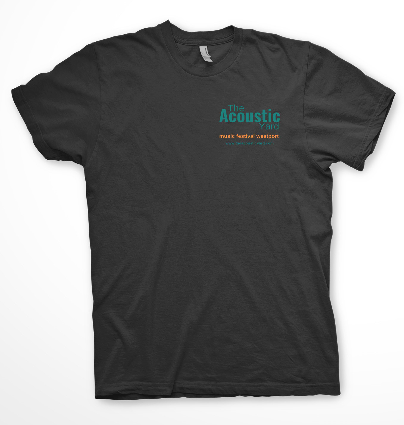 The Acoustic Yard Music Festival T-Shirt Medium