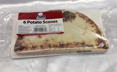 6 Potato Scones