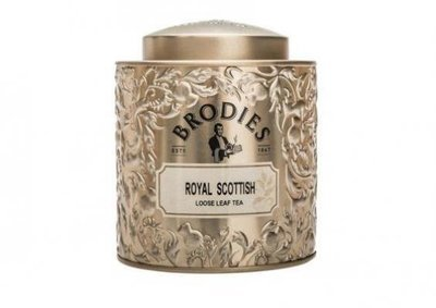Brodies Royal Scottish Loose Leaf Gift Tin