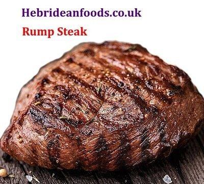 2 x Rump Steaks,  Himalayan Salt Dry Aged, 2 x 240g (8oz) approx.