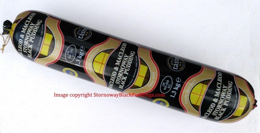 Original Stornoway Black Pudding (MacLeod & MacLeod) 1.3kg