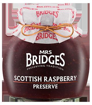 Mrs Bridges Scottish Raspberry Preserve 340g