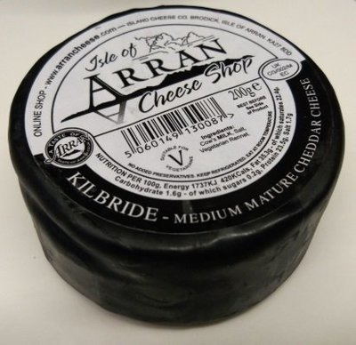 Arran KILBRIDE Medium Mature Cheddar Cheese 200g
