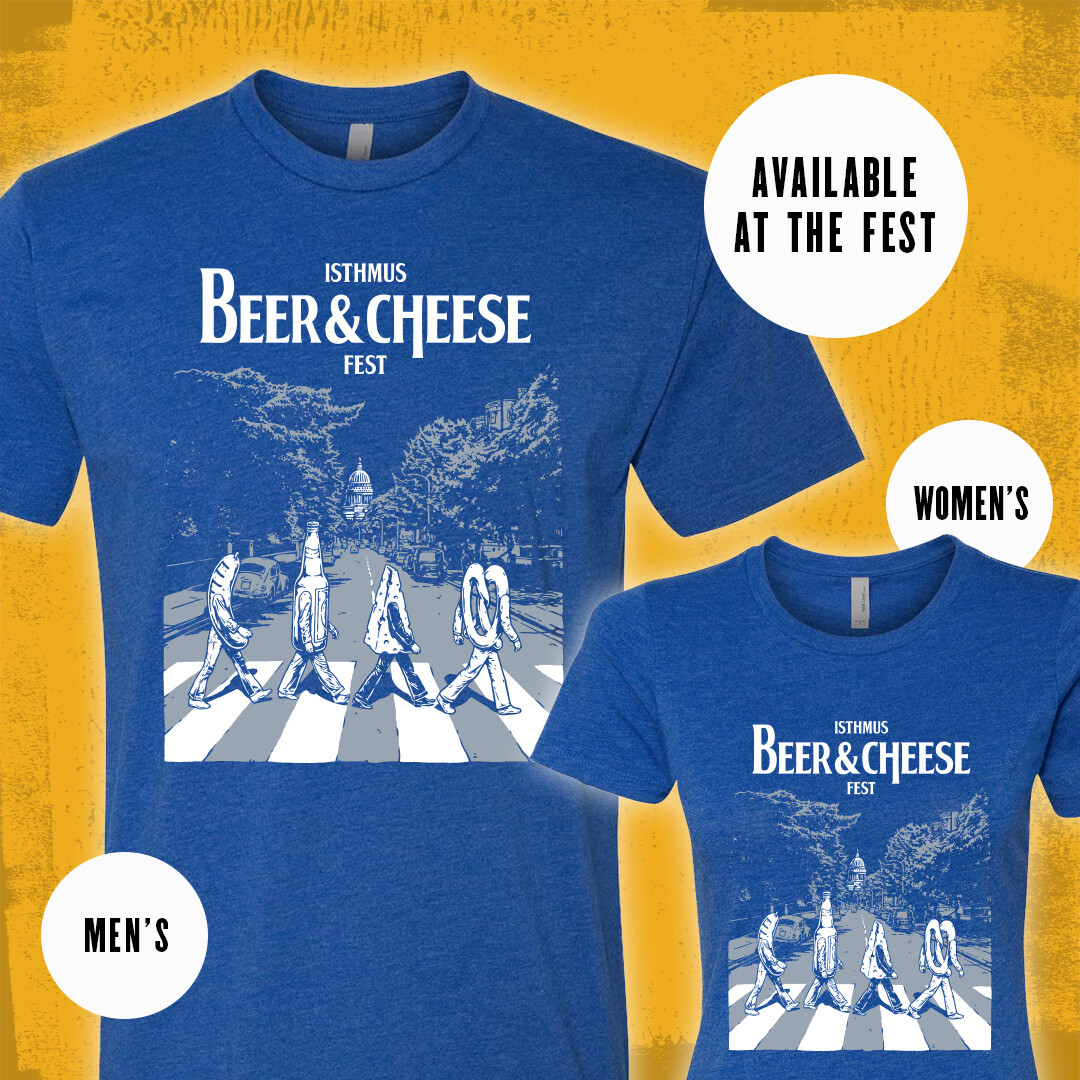 Abbey Road (to Beer and Cheese) T-Shirt