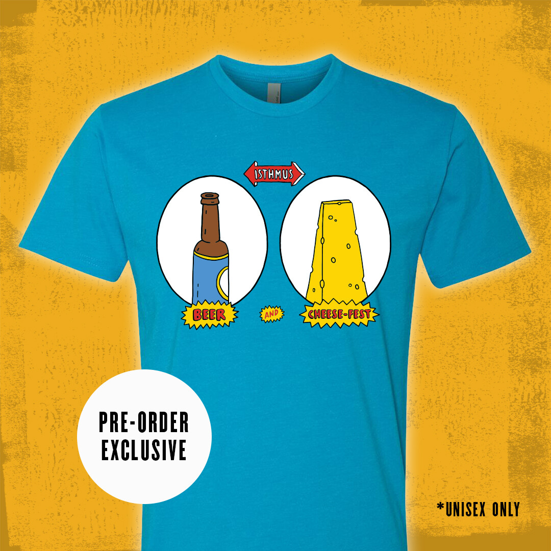 Beer and Cheesehead T-Shirt