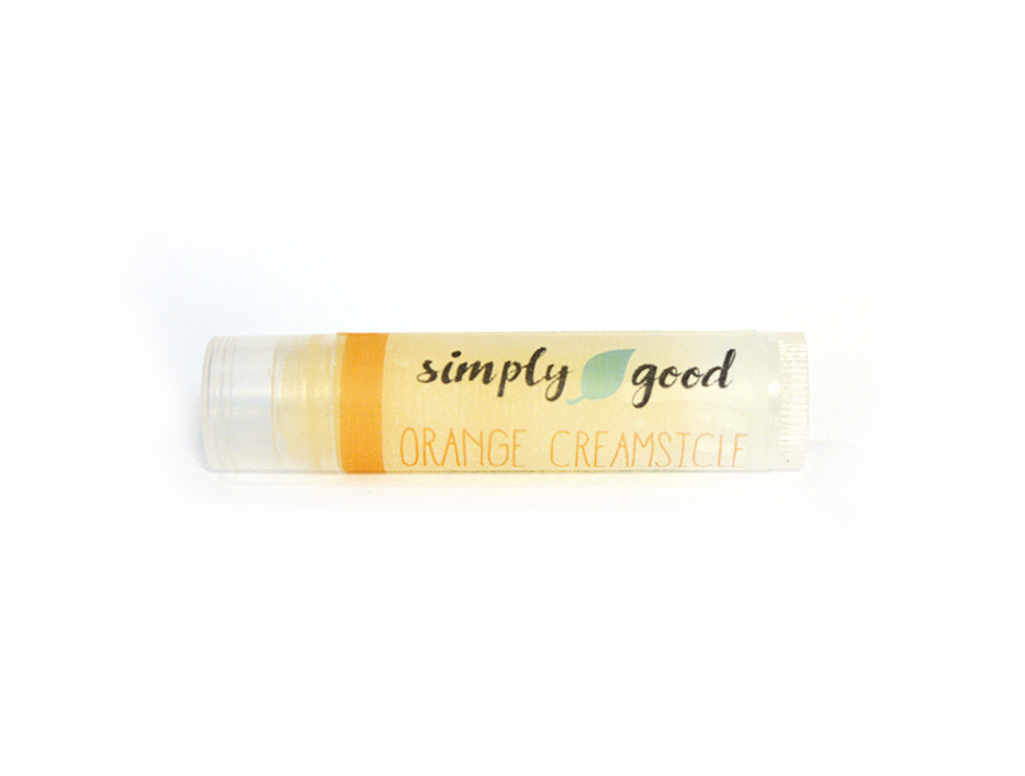 Simply Good™ Orange Creamsicle Orange & Vanilla Flavoured Lip Balm