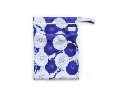 Easy Peasies® Dual Zipping Pocket Wetbag Travel Sack - Saros