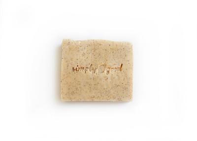 Apricot Scrub Simply Good™ Triple Butter Vegan Soap Bar