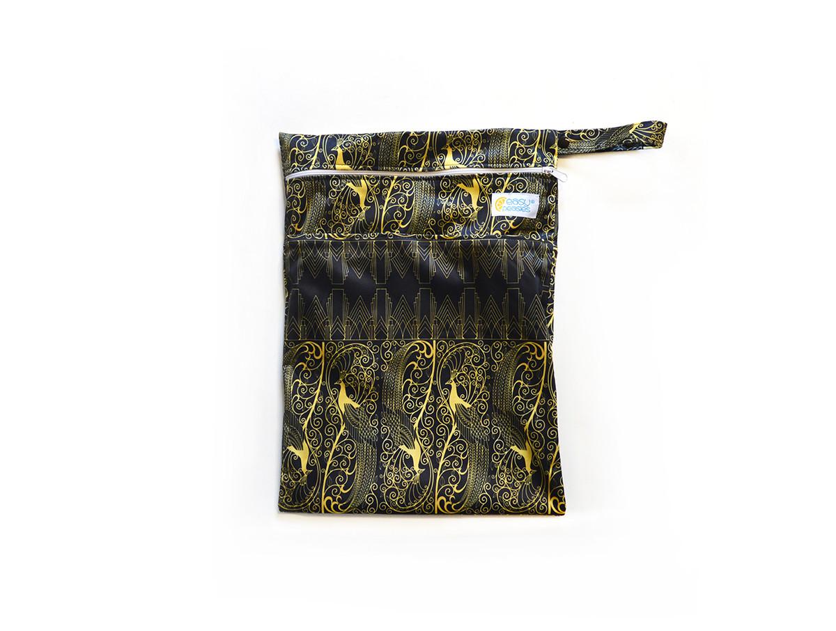 Easy Peasies® Dual Zipping Pocket Wetbag Travel Sack  - Jazz