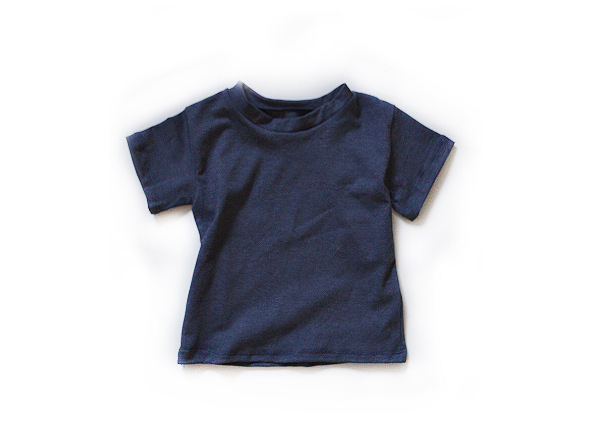 Little Sprout™ Cotton T-Shirt in Denim Blue | NEW Fall 2019