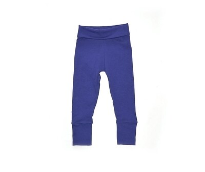 Little Sprout Pants™ in Royal Blue   Grow With Me Leggings - Cotton
