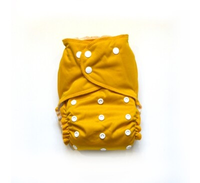 Easy Peasies All in One (AIO) Cloth Diaper  - Golden