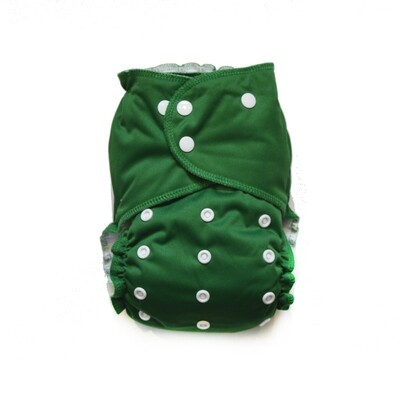 Easy Peasies All in One (AIO) Cloth Diaper  - Deep Woods