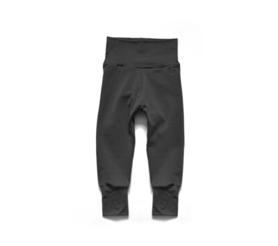 Little Sprout Pants™ in Slate   Grow With Me Leggings - Cotton
