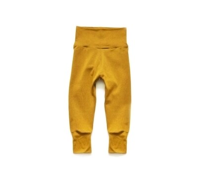 Little Sprout Pants™ in Harvest Gold   Grow With Me Leggings - Cotton