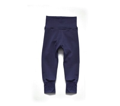 Little Sprout One-Size Pants™ Navy - Organic Cotton