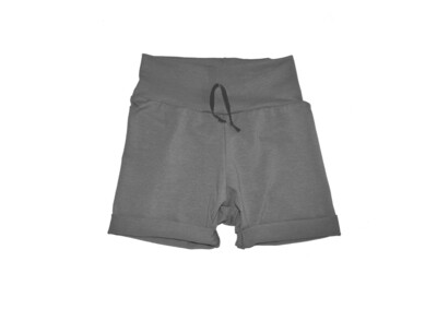 Little Sprout™ One-Size Grow with Me Short in Slate - Cotton