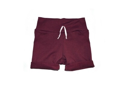 Little Sprout™ One-Size Grow with Me Lounge Short in Cranberry