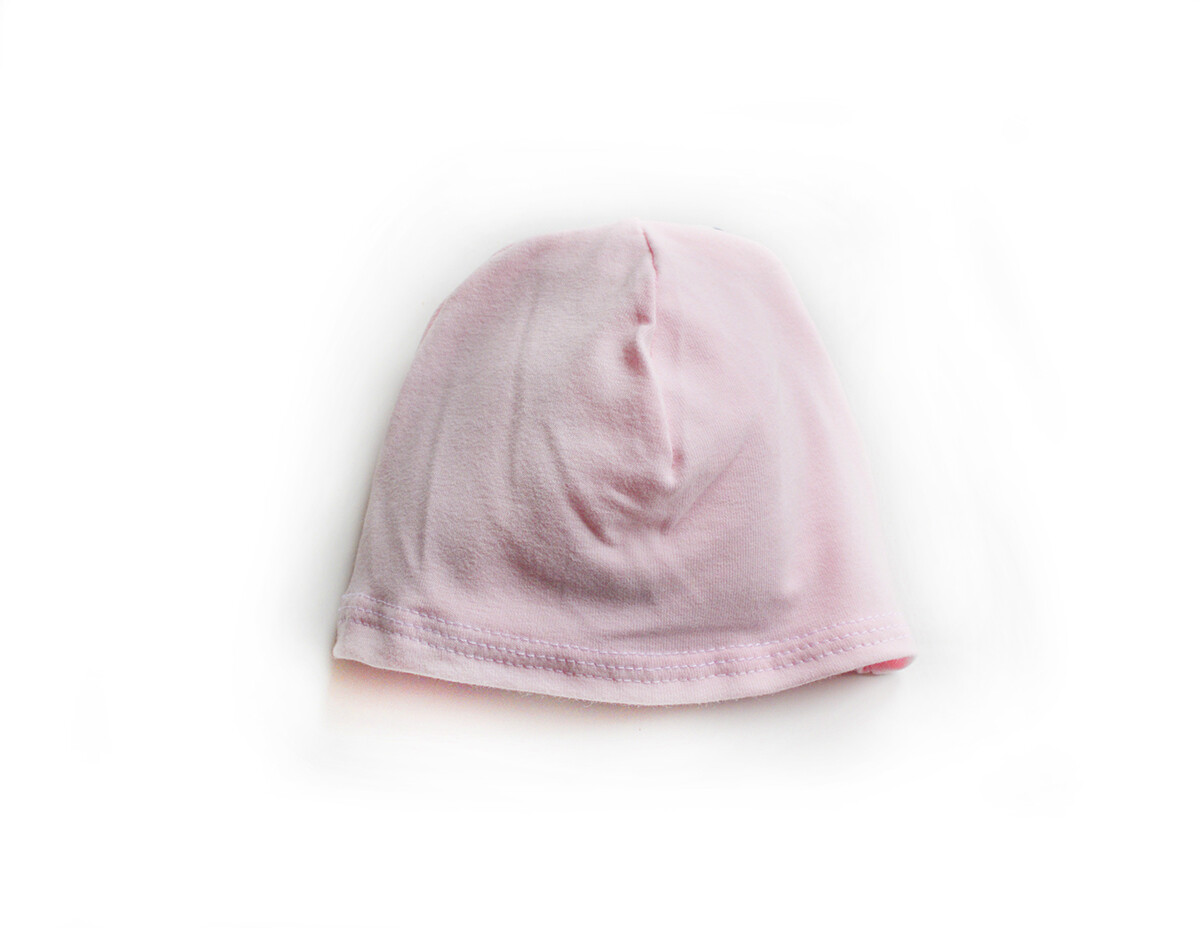 Little Sprout Beanie-Style Baby Hat in Princess