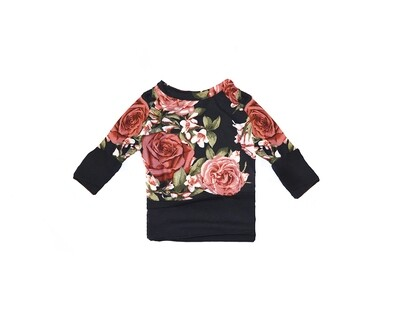 Little Sprout™ One-Size Grow with Me Crew Neck Sweatshirt in Rosie