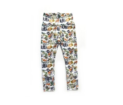 Little Sprout Pants™ in Into the Mist | Grow With Me Leggings - Stretch