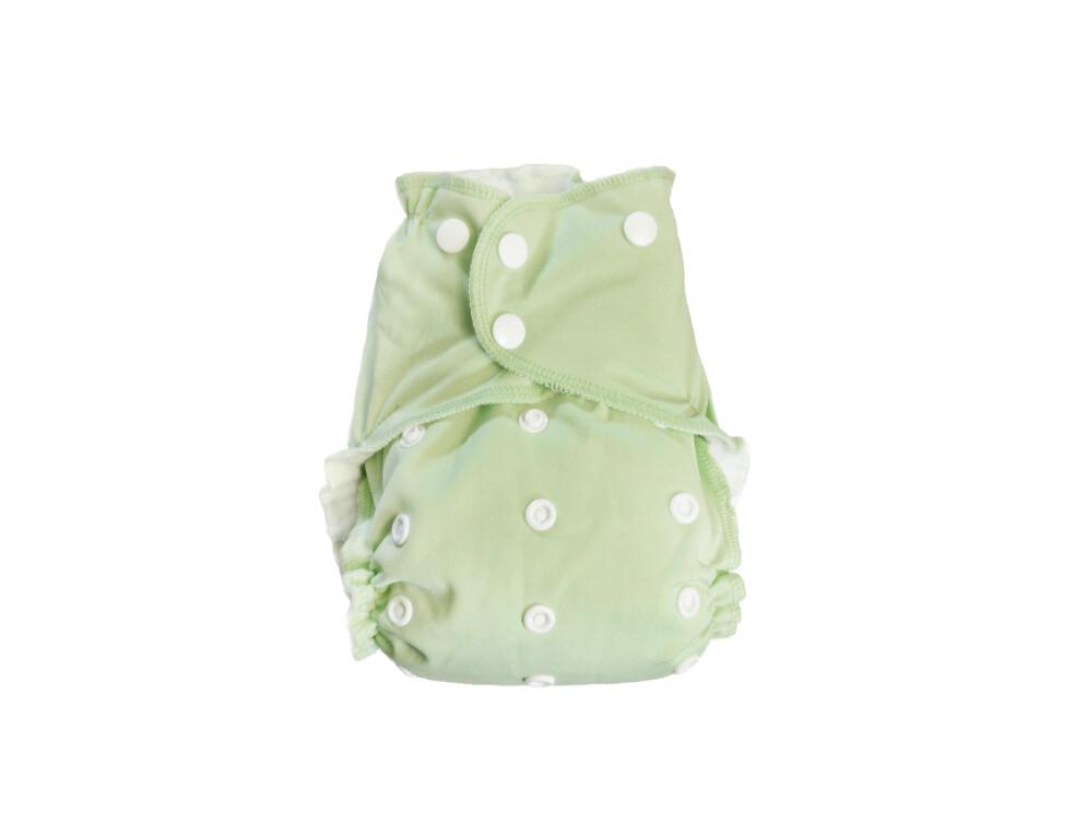 Easy Peasies One size Pocket Cloth Diaper - Pistachio